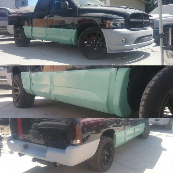 02-08 Dodge Ram Cladding